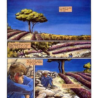 Lie-de-Vin 4 Marie-Mystere par Eric Corbeyran, Olivier Berlion