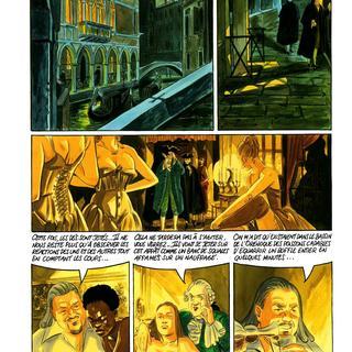 Les Suites Venitiennes 8 Clara par Eric Warnauts, Raives