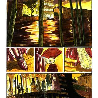 Les Suites Venitiennes 7 Crepuscule sur la Lagune par Eric Warnauts, Raives