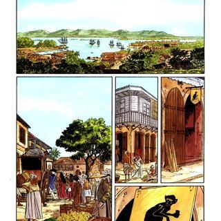 Les Suites Venitiennes 6 L'Ile sous le Vent par Eric Warnauts, Raives