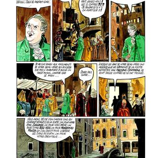 Les Suites Venitiennes 9 Serenissime par Eric Warnauts, Raives