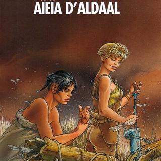 Le Cycle de Cyann 3 Aieia d'Aldaal par Francois Bourgeon