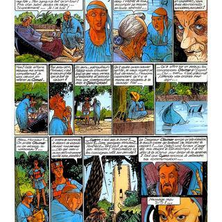 Le Cycle de Cyann 1 La sOurce et la sOnde par Francois Bourgeon