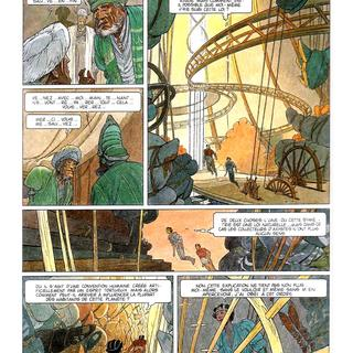 Les Terres Creuses 3 Nogegon par Francois Schuiten