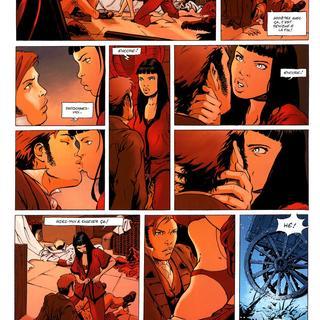 Marie des Loups 1 La Garde Rouge par Frederic Homme, Regis Penet