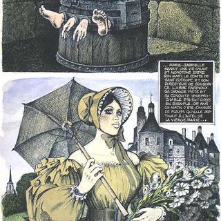Marie-Gabrielle de Saint-Eutrope de George Pichard