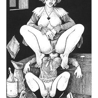 Trois Filles de Leur Mere par George Pichard