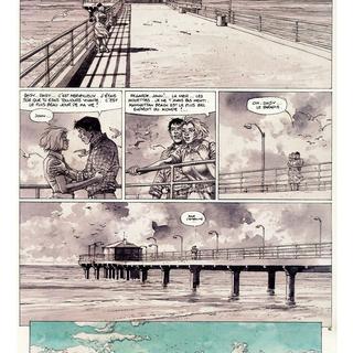 Manattan Beach 1957 par Hermann, Yves H