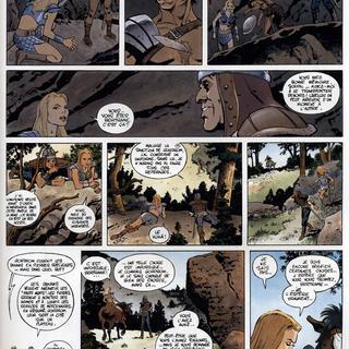Galfalek 3 Les Hauts Murs par Jean-Charles Gaudin, Franck Biancarelli