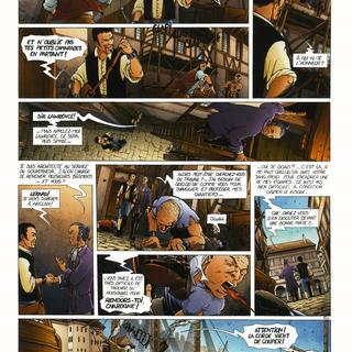 Les Princes d'Arclan 1 Lekard par Jean-Charles Gaudin, Laurent Sieurac