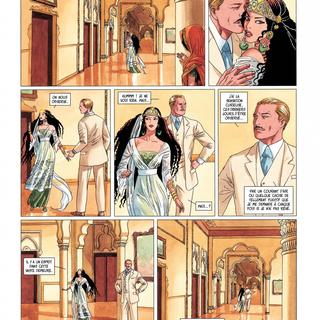 Djinn 10 Pavillon des Plaisirs par Jean Dufaux, Ana Miralles