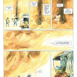 Djinn 4 Le Tresor par Jean Dufaux, Ana Miralles