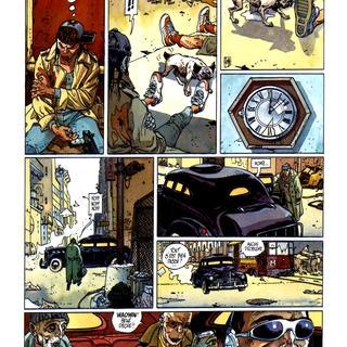 Samba Bugatti 3 Le Mystere Bugatti par Jean Dufaux, Griffo