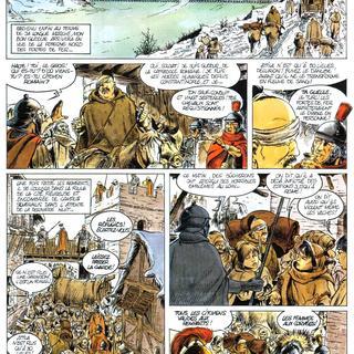 Attila Mon Amour 2  Les Portes de Fer de Jean-Yves Mitton, Franck Bonnet
