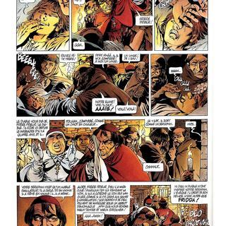 Chroniques Barbares 4 Le Retour des Vikings par Jean-Yves Mitton