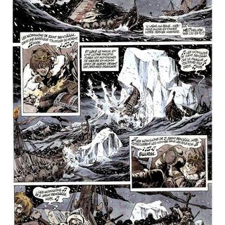 Chroniques Barbares 3 L'Odyssee des Vikings par Jean-Yves Mitton