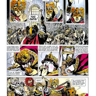 Chroniques Barbares 2 La Loi des Vikings par Jean-Yves Mitton