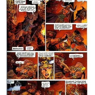 Chroniques Barbares 5 Au Nom des Vikings par Jean-Yves Mitton