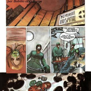 Les Assistants par Juan Bobillo, Barreiro