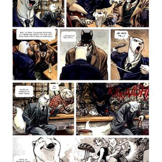 Blacksad 2 Arctic-Nation par Juan Diaz Canales, Juanjo Guarnido