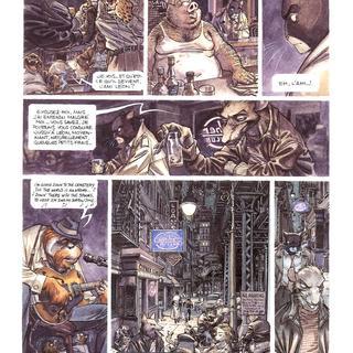 Blacksad 1 Quelque Part Entre les Ombres par Juan Diaz Canales, Juanjo Guarnido