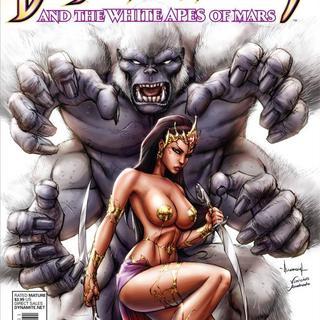 Dejah Thoris and the White Apes of Mars 1 de Lui Anconio