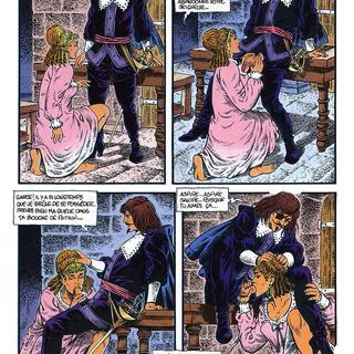 Les Trois Mousquetaires 2 par Mancini