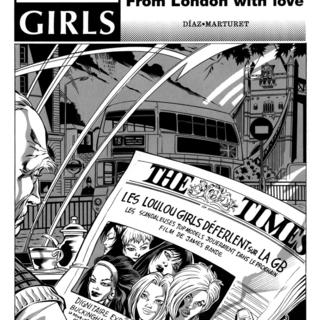 Loulot Girls 8 From London with love par Marturet