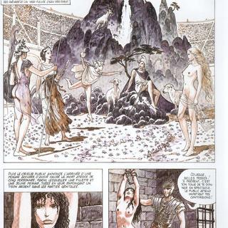 La Metamorphose de Lucius de Milo Manara
