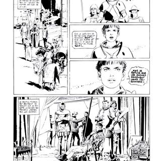 Jehanne 2 La Pucelle par Paul Gillon
