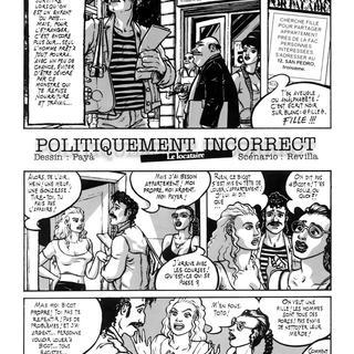 Politiquement Incorrect Le Locataire par Paya, Revilla