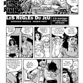 sexe de bande dessinée Interracial