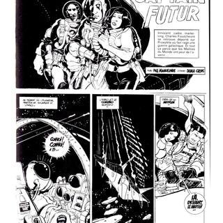 Captain Futur par Phil Manoeuvre, Serge Clerc