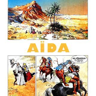 Aida de Giuseppe Verdi par Pierre Frisano, Raymond Maric