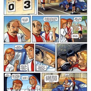 Trois Amis 1 Le Match par Roger, Alejo