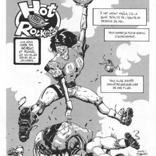 Rakel et Hot Rockets de Sergio, Jies