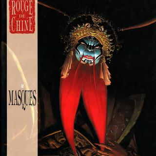 Rouge de Chine 2 Masques par Thierry Robin
