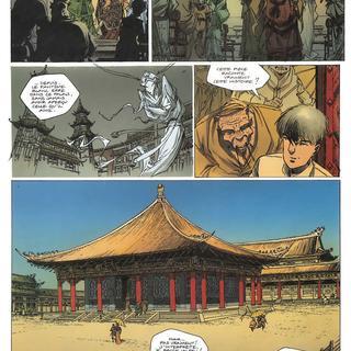 Rouge de Chine 2 Masques par Thierry Robin