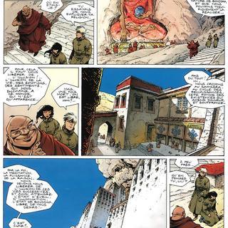 Rouge de Chine 4 Chute par Thierry Robin