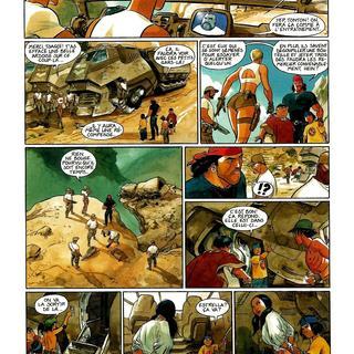 Gipsy 6 Le Rire Azteque par Thierry Smolderen, Enrico Marini