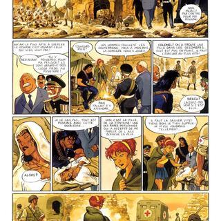 Gipsy 5 L'Aile Blanche par Thierry Smolderen, Enrico Marini