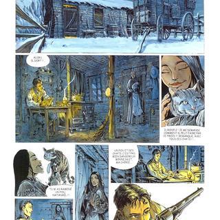 La Piste des Ombres 2 Trois Tombes par Tiburce Oger