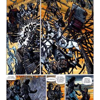 La Piste des Ombres 1 Pierres Brulantes par Tiburce Oger