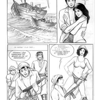 Boat People par Vo Linh