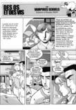 Des Os et des Vis 13 Vampires Sexuels par Man
